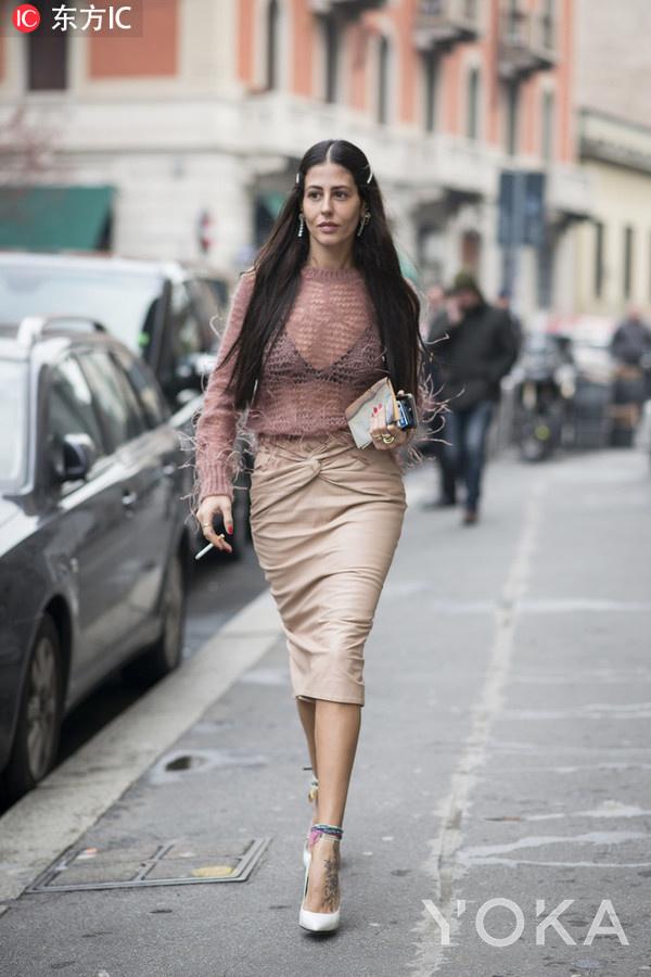 时尚博主 Gilda Ambrosio