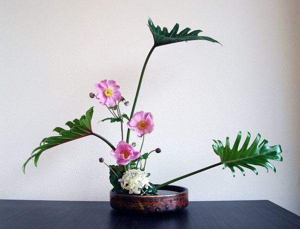 日式插花  图片来自artsy
