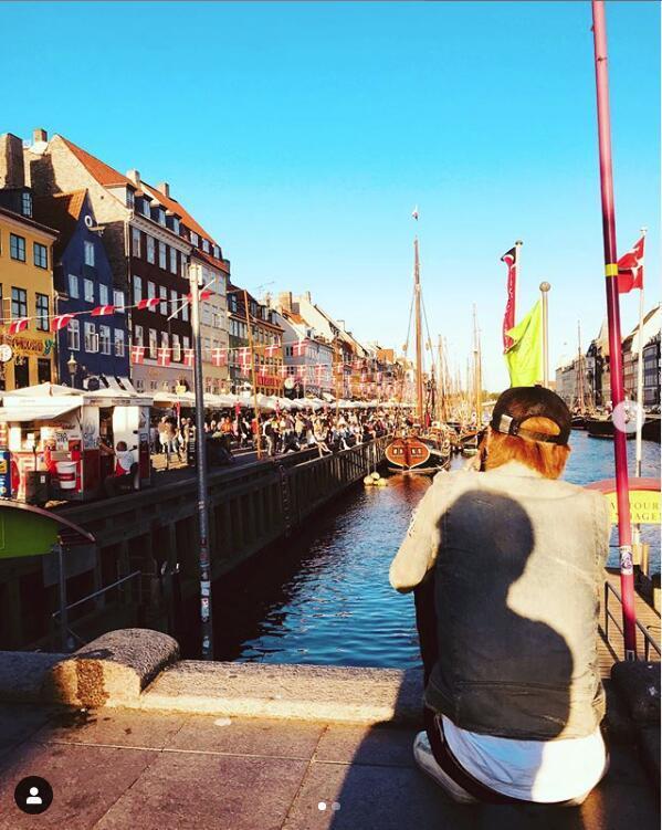 EQUE.M设计师木下裕贵在哥本哈根  图片来自ins@EQUE.M