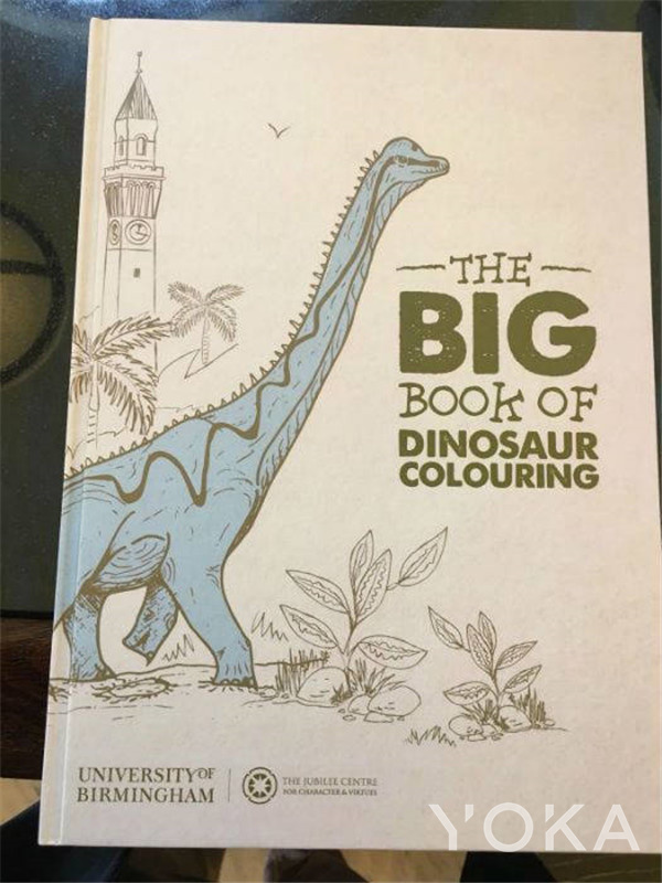 恐龙童话书(图片来源于hellomagazine)