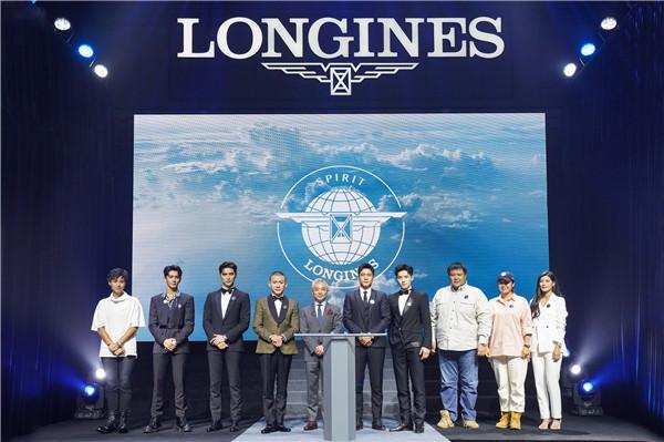 浪琴表中国区副总裁李力先生携手当代先行者及品牌好友亮相(图片来源于品牌)