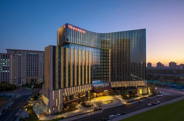 北京新青海喜来登酒店外观